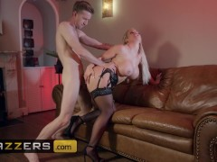 Brazzers - Big tit blonde Amber Jade craves big dick